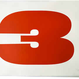 HOUSE INDUSTRIES - Eames Three Serigraph