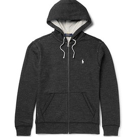 Polo Ralph Lauren - Fleece-Back Cotton-Blend Zip-Up Hoodie