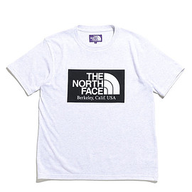 THE NORTH FACE PURPLE LABEL - H/S Logo Tee-LH