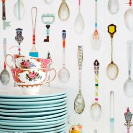 studio ditte - Teaspoons Wallpaper