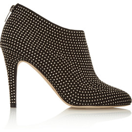 JIMMY CHOO - Mendez studded suede ankle boots