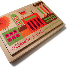 Alexander Girard - House Industries Alphabet Blocks