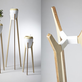 plastia - boadesign studio / flower stands