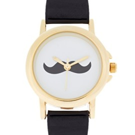 ASOS - Moustache Face Watch