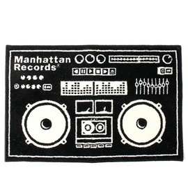 Manhattan Records - Boombox Mat (black)
