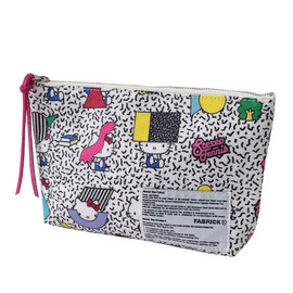 MEDICOM TOY - HELLO KITTY×FABRICK(R)×stereo tennis シリーズ POUCH