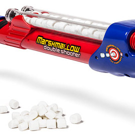 ThinkGeek -  Double Barrel Marshmallow Shooter