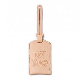 STUSSY Livin' GENERAL STORE - GS Leather Luggage Tag