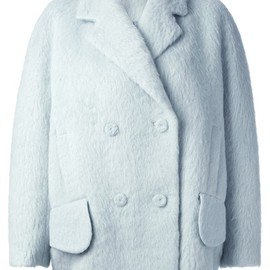 CARVEN - 'Hairy' coat