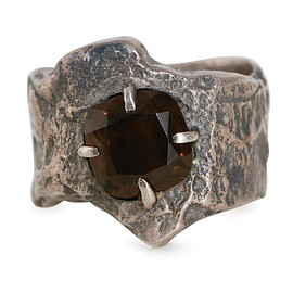 Tobias Wistisen, Fallow - Narrow Wood Stone Ring