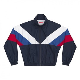 Gosha Rubchinskiy - Sport Jacket 1 With Fabric Combo (G008J003 NAVY/MIX)