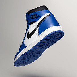 NIKE - AIR JORDAN 1 WHITE / ROYAL