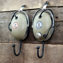 Vintage Koss Headphone Wall Hooks