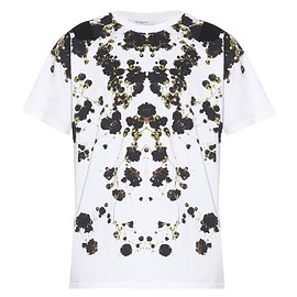 GIVENCHY - SS2015 Columbian-fit floral-print T-shirt