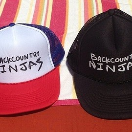 Backcountry Photo Trucker Hat Black