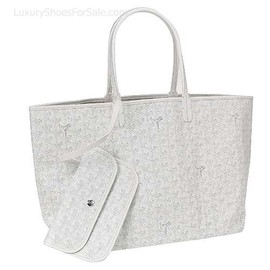 GOYARD - Saint Louis Tote Handbag GM White