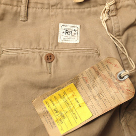 RRL - Chino Trousers / Standard Issue D-2