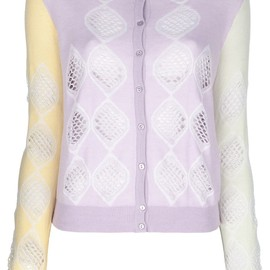 CARVEN - cut-out cardigan