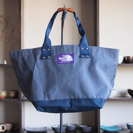 THE NORTH FACE PURPLE LABEL - Tote Bag #navy×navy