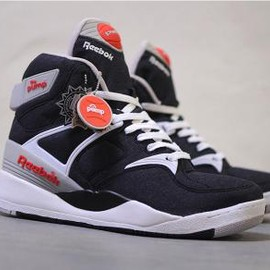 Reebok - ATMOS × REEBOK THE PUMP BLACK/WHITE/SHEER GREY/ORANGE