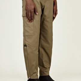Alexander McQueen - Men's Cotton Military Trousers