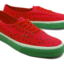 VANS - AUTHENTIC LACE-UP (WATERMELON PRINT)