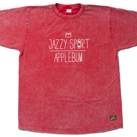 Jazzy Sport 10th T-Shirts By APPLEBUM/RED - Jazzy Sport 10th T-Shirts By APPLEBUM/RED
