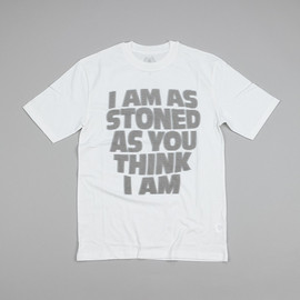 Palace Skateboards - I Am As Stoned T - White