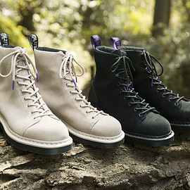 "THE NORTH FACE PURPLE LABEL - ""THE NORTH FACE PURPLE LABEL × Dr.Martens"" M's W's TNF 9Tie Boot"