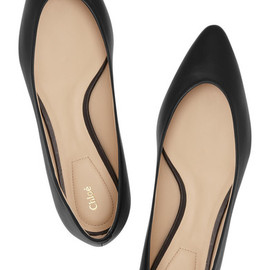 Chloe - Point-Toe Ballerina Flat