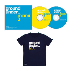 V.A - Underground Sound Of Miami Series 3 2xCD Unmixed/Mixed & MIA Underground Shirt Pre-order