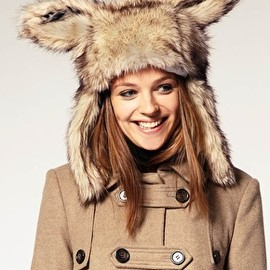 ASOS - Faux Fur Bunny Ear Hat