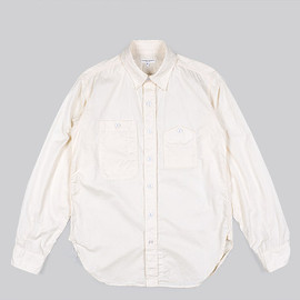 ENGINEERED GARMENTS - Work Shirt-Cotton HB-Natural