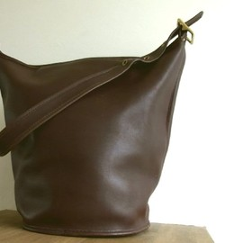 coach - Vintage Leather Coach Bag  (USA made)