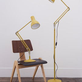 Anglepoise - Type75 Yellow + Floor Stand