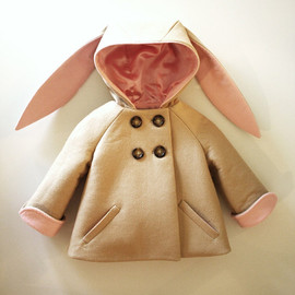 little good all - Honey Bunny Coat in Pink