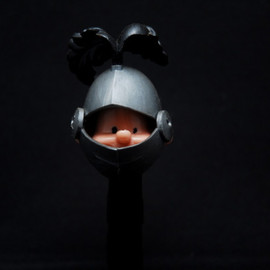 PEZ - Knight with Black Plume