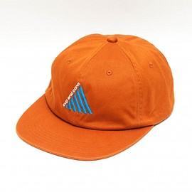 cup and cone - Tri Logo 6 Panel - Orange