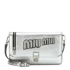 miu miu - Leather shoulder bag