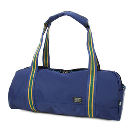 "HEAD PORTER - ""IVY"" BOSTON BAG (L) NAVY"