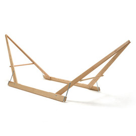 Manufactum - Folding Ash-wood Hammock Stand | Garden Décor