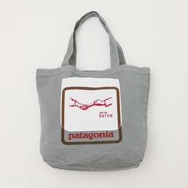 Patagonia,PASS THE BATON - patagonia×PASS THE BATON Remake Bag Gray