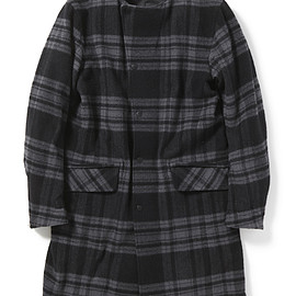 nonnative - CONTRACTOR COAT W/N PLAID CHECK