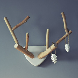 Rowen & Wren - Hand Carved Lime Wood Antlers