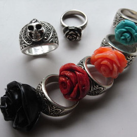 DRAGON ROSE - RING