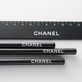 CHANEL - Luxury Stationary/Pencils and Ruler.