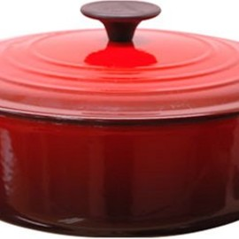 Le Creuset - ココット・ジャポネーズ チェリーレッド 25052-24-06