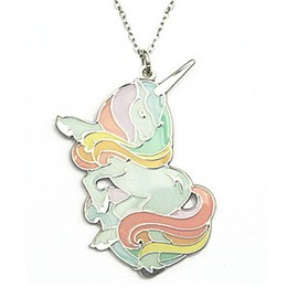 Milena's Boutique JAPAN - Jessica Unicorn Necklace Rainbow
