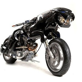 Design by Lee J. Rowland : CAT 1 Uber - Jaguar bike