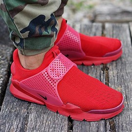 NIKE - NIKE SOCK DART RED INDEPENDENCE DAY PACK